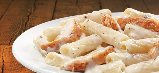 Ziti Chicken Alfredo